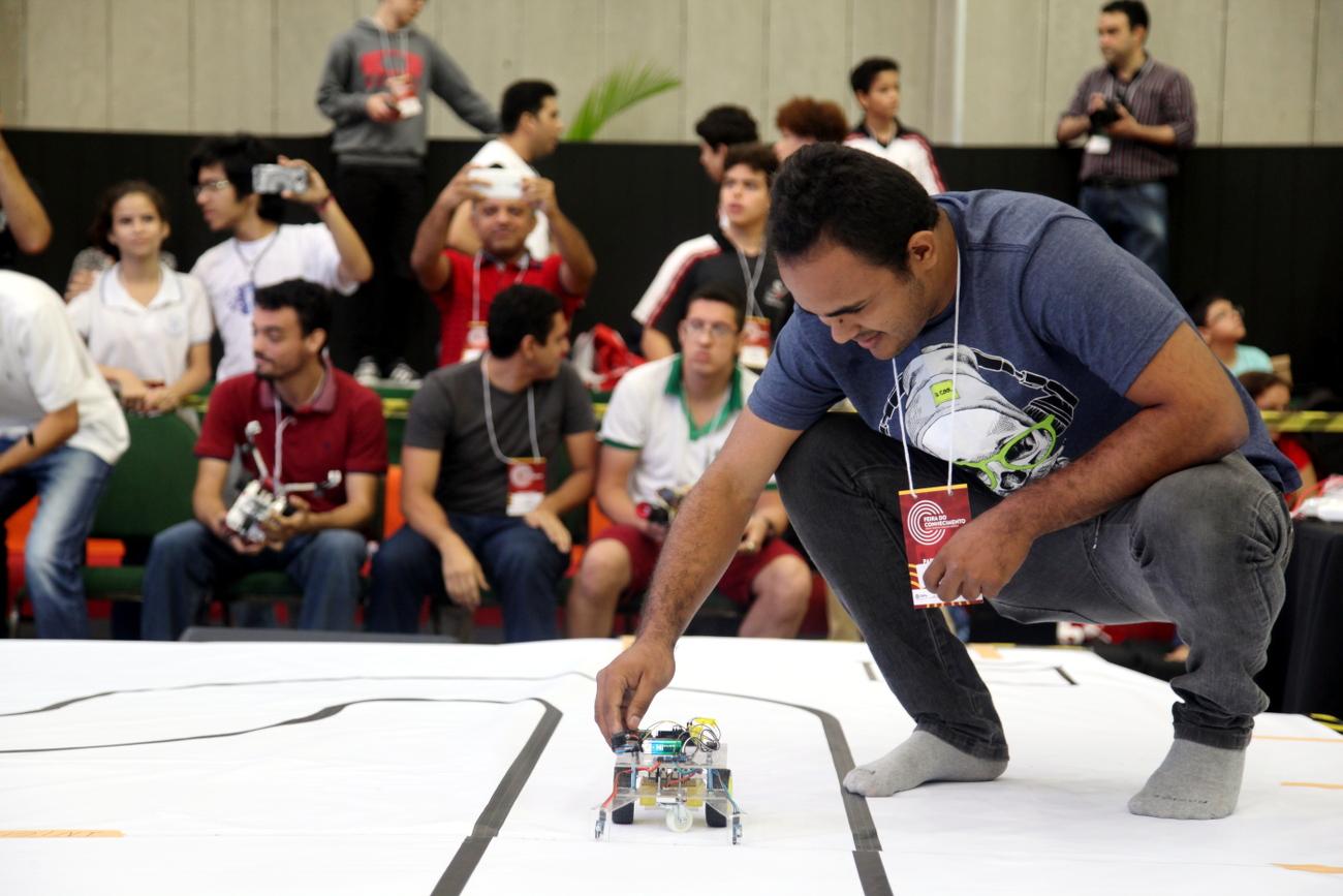 Torneio de Robótica da Feira do Conhecimento recebe inscrições a partir de 1º de outubro
