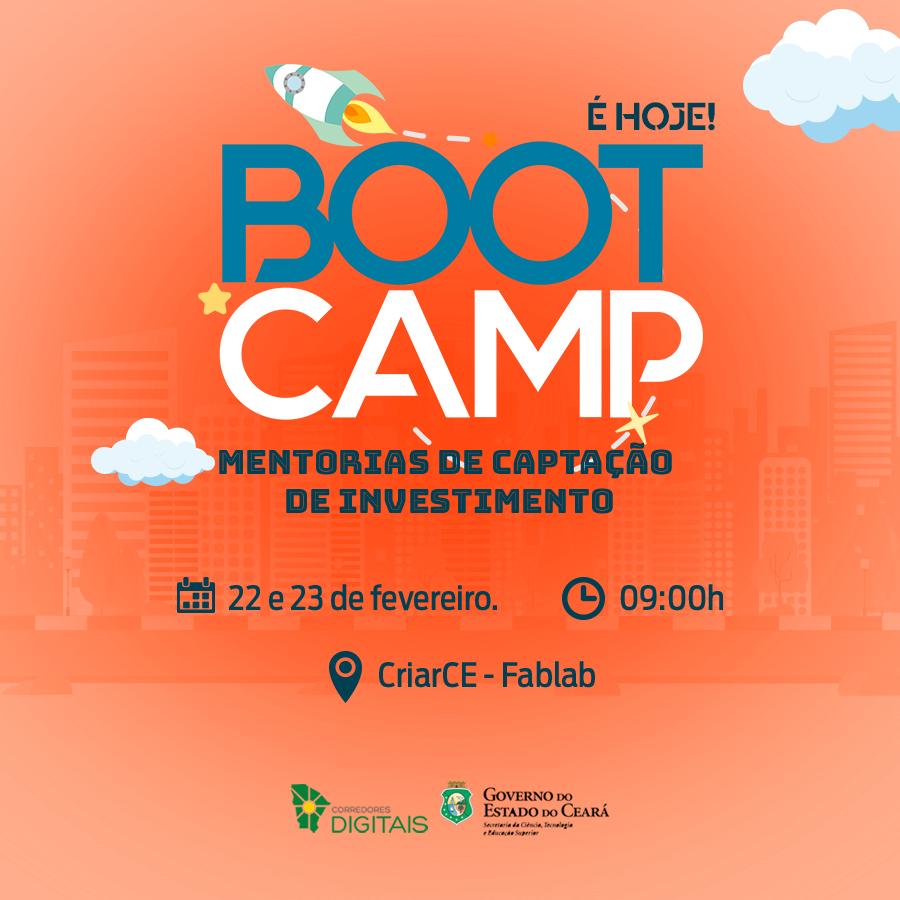 Corredores Digitais realiza Bootcamp Mentorias de Captação de Investimento