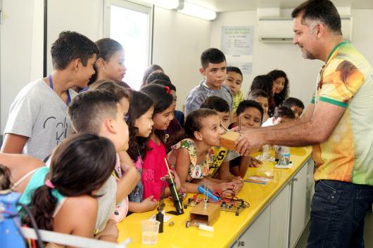 Ciência Itinerante: ônibus-laboratório inicia nova temporada de visitas a municípios