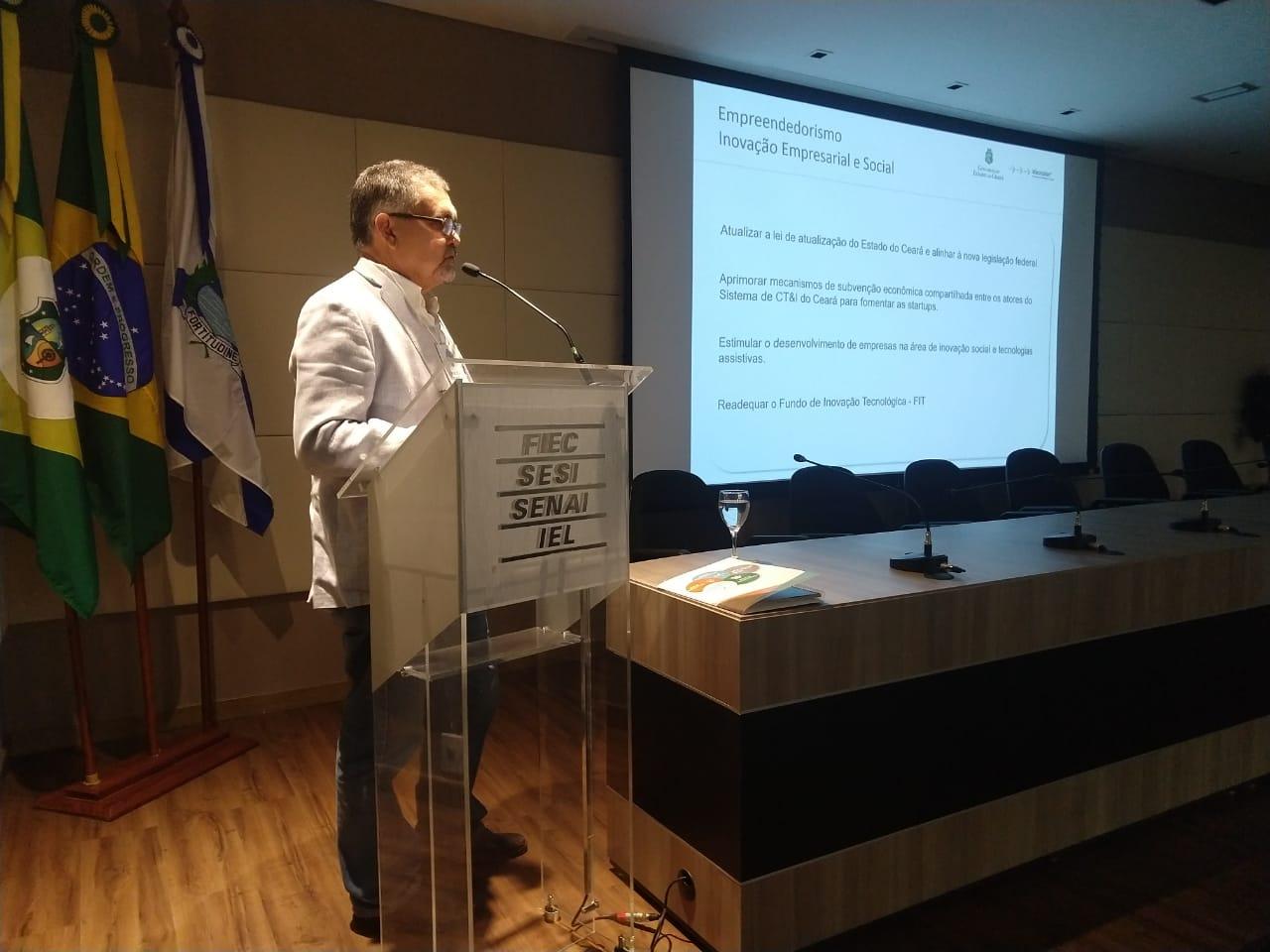 Seminário discute estratégias para o setor produtivo do Ceará