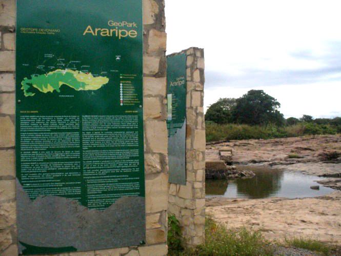 GeoPark Araripe recebe a visita de técnicos internacionais