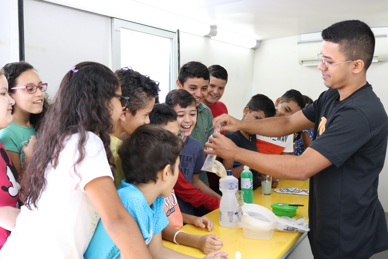Projeto Ciência Itinerante participa da 3ª Colônia de Férias Digital