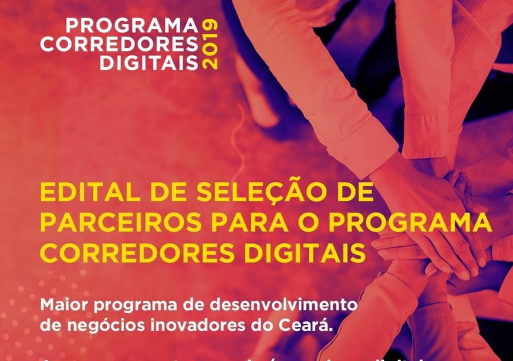 Programa Corredores Digitais lança edital para seleção de parceiros