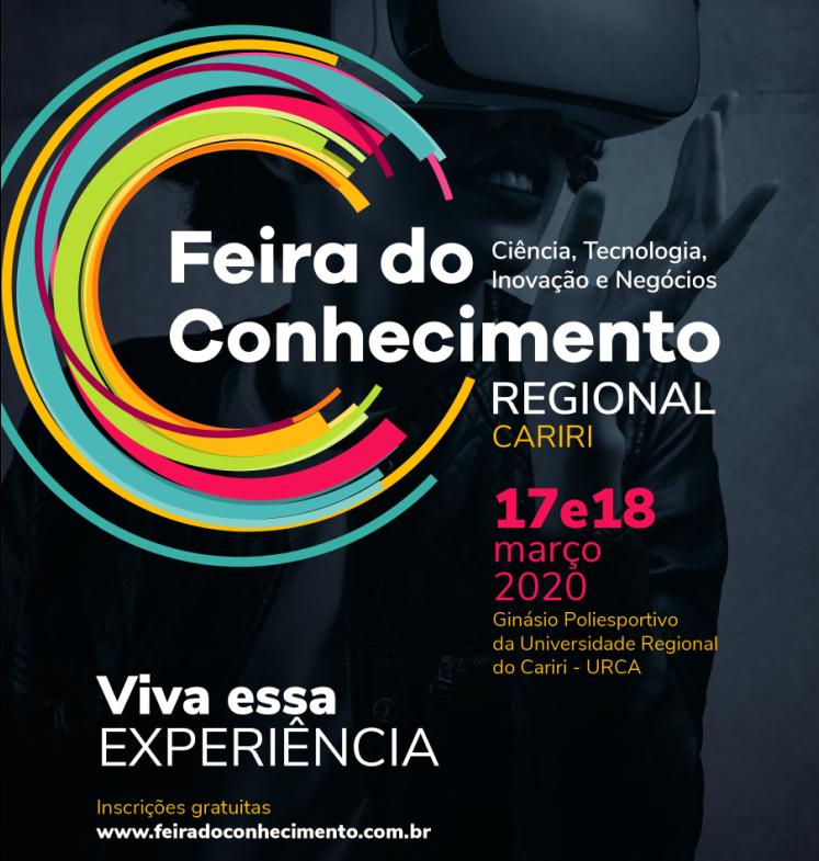 FdCR: Cariri recebe a próxima edição da Feira do Conhecimento Regional