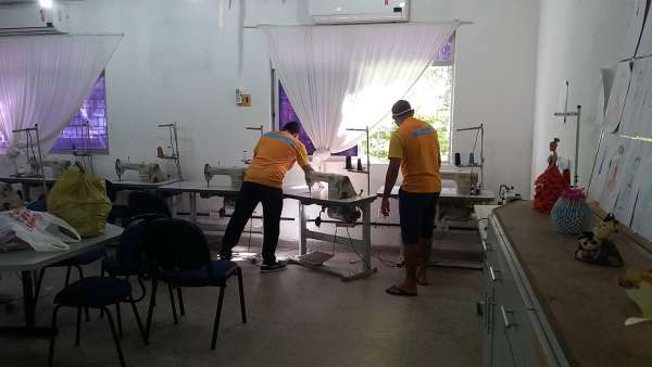 Centec apoia a confecção de máscaras para a população de Horizonte ...