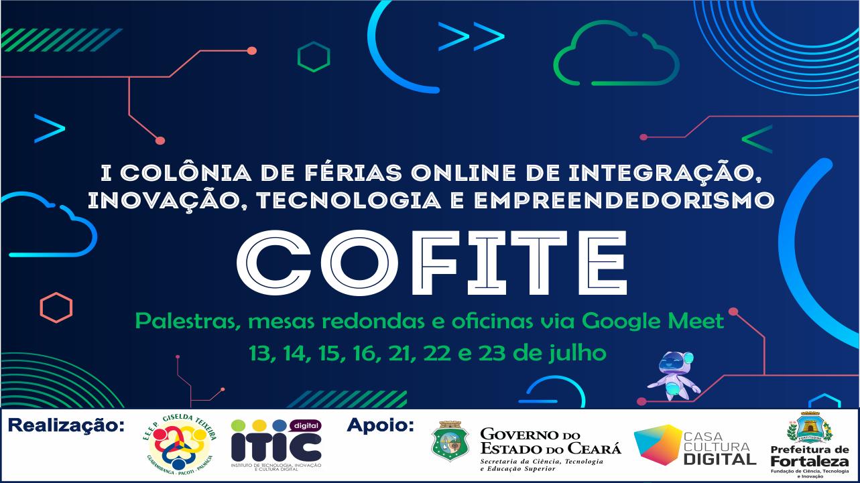 Escola do Maciço de Baturité realiza I Colônia de Férias Online