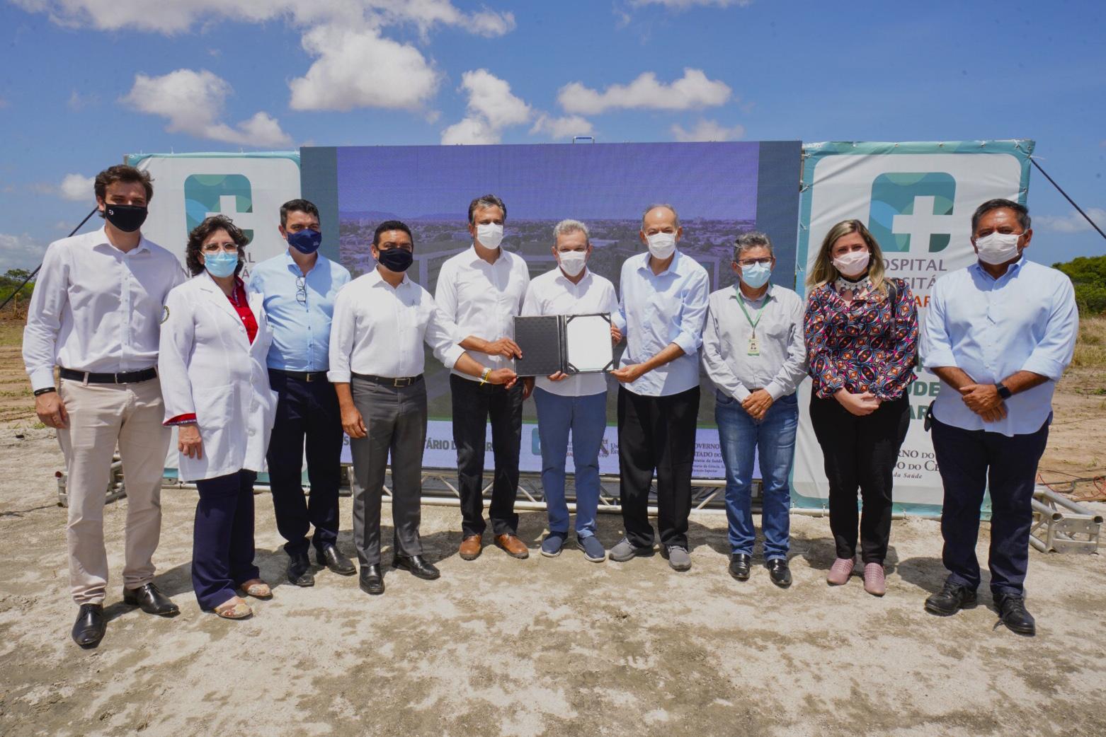 Governo inicia obra do Hospital Universitário do Ceará, que será o maior do Estado