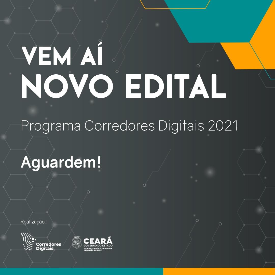 Programa Corredores Digitais lança novo edital
